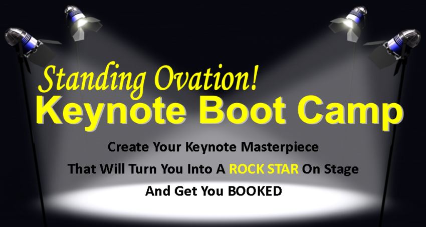 Boot Camp For Keynote Speakers