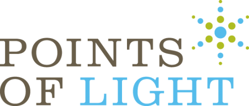 Celebrating Women of Worth: Points of Light logo