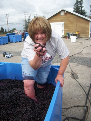 Dream Images Inspired by California Wine Country: Grape Stomping in the California Wine Country