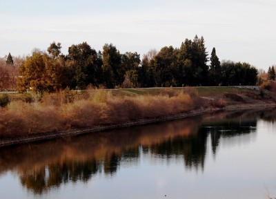Wordless Wednesday Images of Winter in Northern California: RiverWalk photo by Remy Gervais