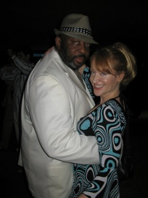 dancing with Charles