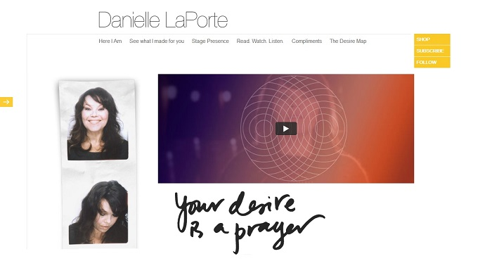Key to Online Success: Danielle LaPorte