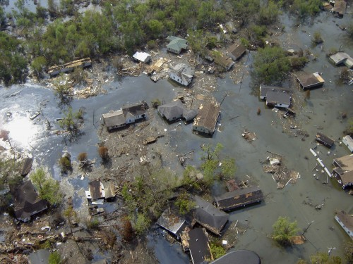 How to Deal with Loss When you are Dreaming Big:  Hurricane Katrina Damage