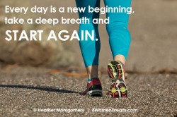 Dream image quote - START AGAIN