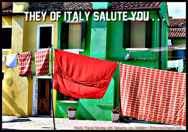 Dream Italy Travel: Burano Italy and win a trip to Italy