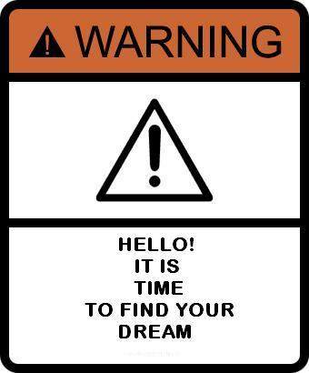 dream warning sign