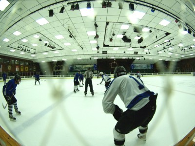Wordless Wednesday: Fisheye Lens Inspiration at Snoopy's Ice Arena