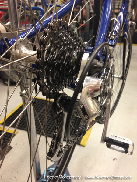 Learn a new skill - bike maintenance
