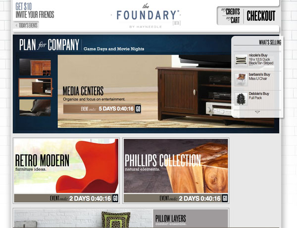 Website Launch Review: Get Your Designer Fix At The Foundary