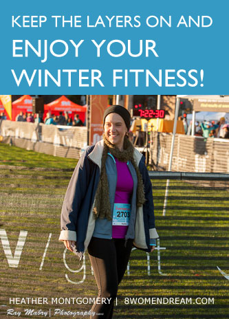 Stay warm - Exercise in cold weather!