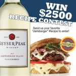 Celebrity Chef Contests: Geyser Peak and Jarlsberg Cheese Recipe Contest
