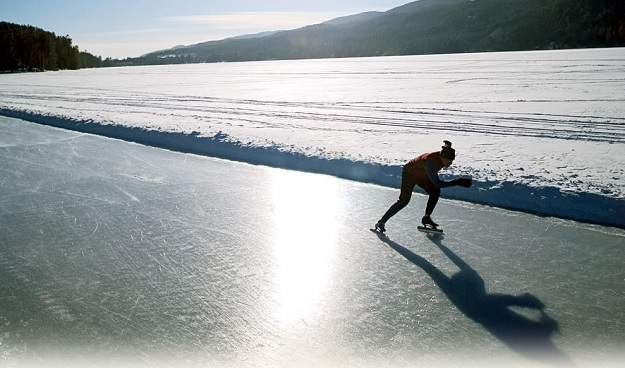 Girlfriend Getaways: Travel Dreams at Lake Morey Resort: Longest ice skating trail