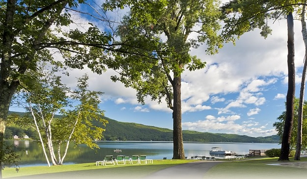 Girlfriend Getaways: Travel Dreams at Lake Morey Resort: Relax by the lake
