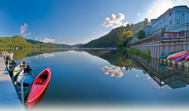 Girlfriend Getaways: Travel Dreams at Lake Morey Resort: Picture of the lake