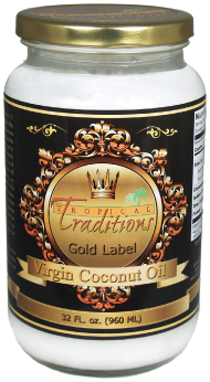 Dream Fitness GIVEAWAY: Tropical Traditions Coconut Oil