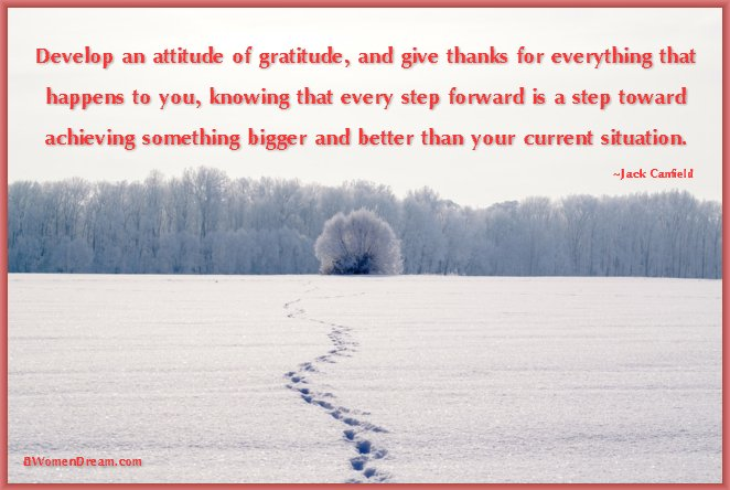 8 Uplifting Gratitude Picture Quotes for Dreamers: Attitude of Gratitude quote by Brian Tracy
