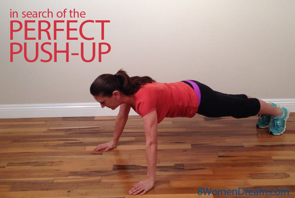 Heather is dreaming of a perfect push-up