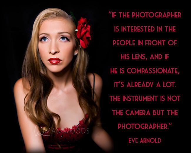 50 Most Inspiring Famous Photographer Quotes -- Eve Arnold