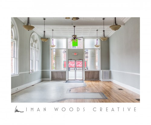 Dreaming of a Retail Space - The inside. This is a historic building that has been lovingly restored.