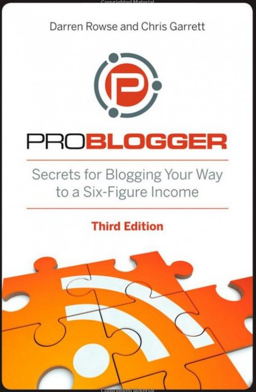 ProBlogger: Secrets for Blogging Your Way to a Six-Figure Income [Paperback]