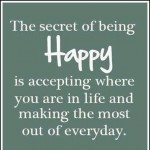 Finding Happiness Through Loving the Now