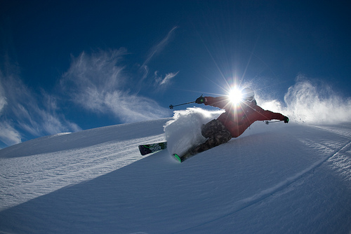 You Can't Reach Your Dreams if You Are Running in Skis
