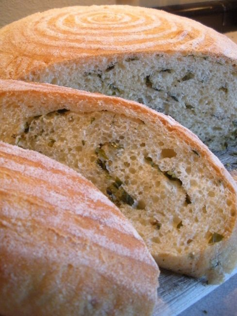 Create a Dream Day by Caring for Baby Violet: Semolina herb swirl bread