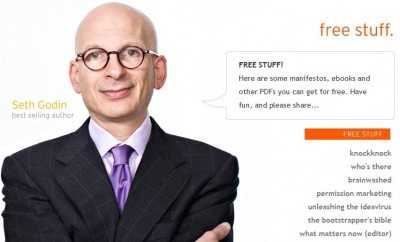 Your One Dream Has No Value Until You Give It Away For Free: Seth Godin's Free Stuff