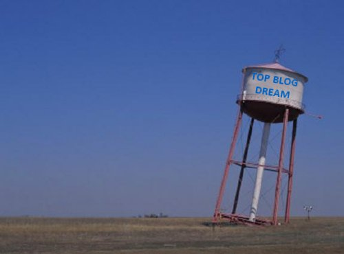 Top Blog Dream:Water Tower Leaning