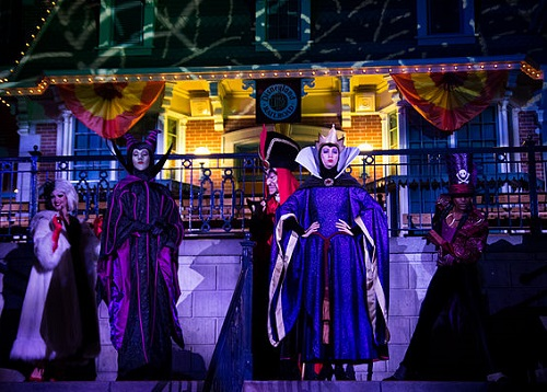 Does Your Bucket List Travel Destinations Include a Disney Halloween? Villains at Mickey's Halloween Party Image by Anna Fox
