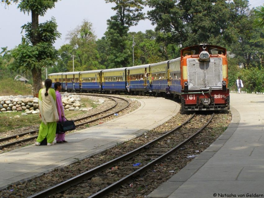 essay on train journey india
