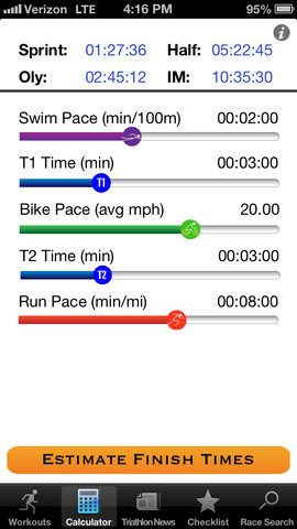 TriAlly iPhone Apps for Triathletes
