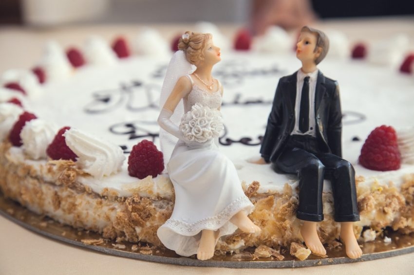 When Your Dream Makes You Eat Your Words: Wedding cake and weddings OH MY