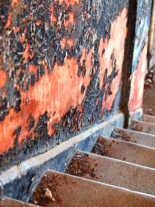 Wordless Wednesday: Angel Island textures in photography