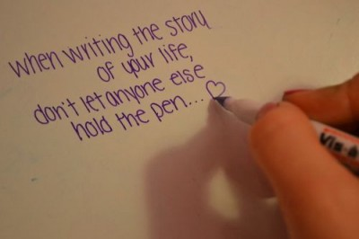 write the story of your life yourself loves
