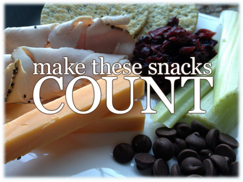 100 calorie snack options - make these snacks count