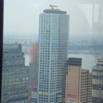 View from New York Marriott Hotel