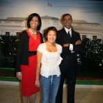 President and Mrs Obama at the New York Wax Museum