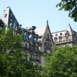 Central Park view of buildings
