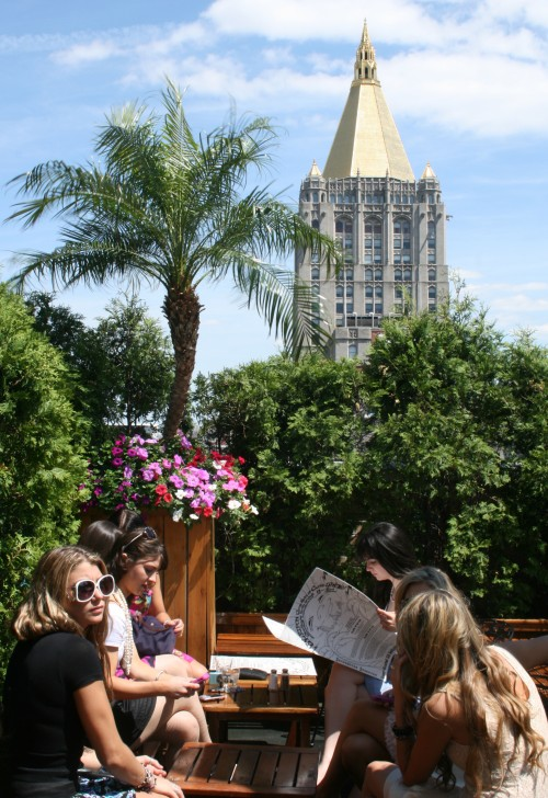 Best City Breaks: New York City or London? 230 Fifth Avenue roof terrace New York City