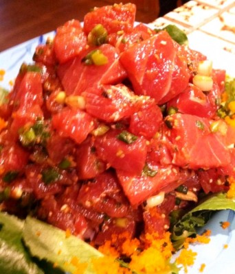 The Sexy Bathing Suit Dream: ahi poke