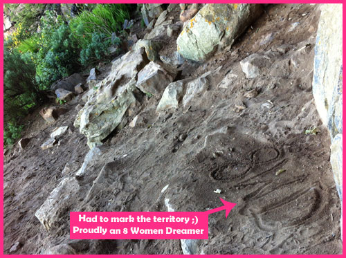 Cape Town South Africa: A Dreamers View marked fro 8 Women Dream