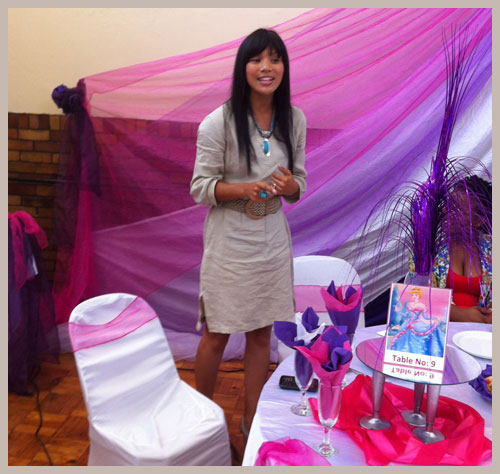Motivating Girls: Sue Levy Speaking at the Princess Day Project