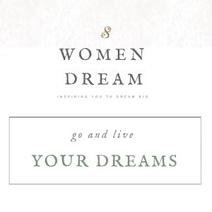 Motivational and Inspirational Website 8WomenDream