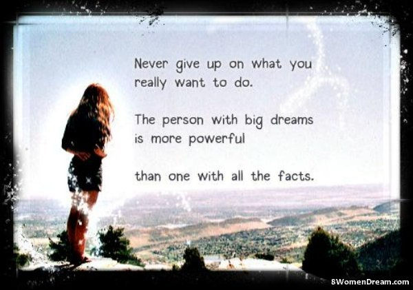 Inspirational Picture Quotes The Person With Big Dreams