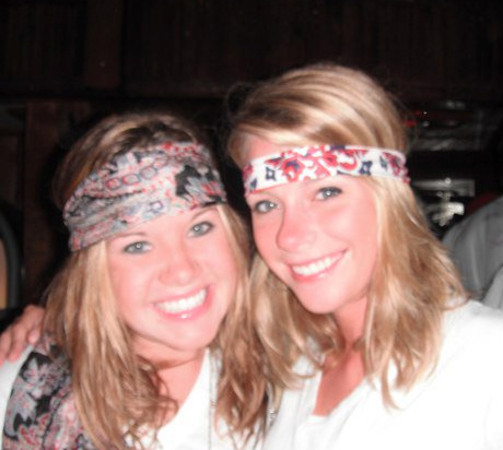 I am thankful for my college roomie being in town for the weekend
