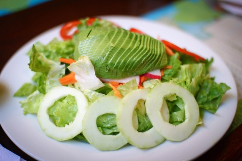 Do Not Let Your Old Junk Screw You Out of Your Dreams: Maria's dream salad