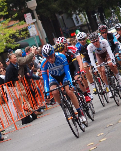 Dream Images of the 2012 Amgen Tour with Levi Leipheimer at the end