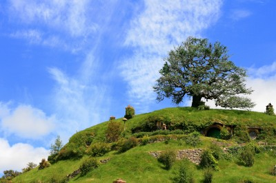 Bag End, Hobbiton film set, New Zealand