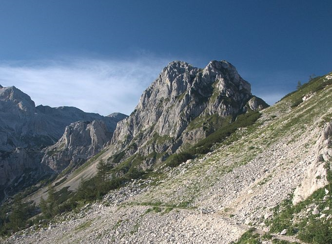 Best Hiking Travel Destinations: Path_to_Vodnikov_dom_Julian Alps of Slovenia